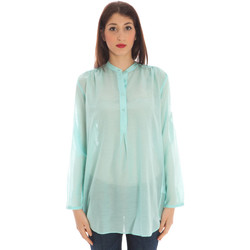 Textiel Dames Tops / Blousjes Gant 1401.431996 Shirt Long Sleeves Women light blue 332 light blue 332