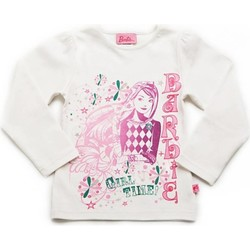 Textiel Heren Truien Barbie 2343 WHITE 20