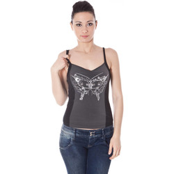 Textiel Dames Tops / Blousjes Datch 59K7012 BLACK 402