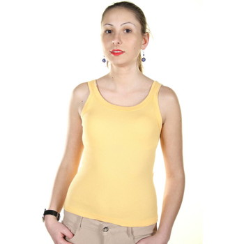 Textiel Dames Tops / Blousjes Kontatto 60 yellow GIA00