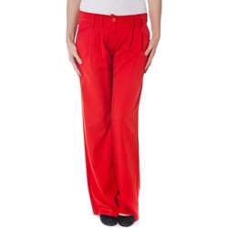 Textiel Dames Chino's Denny Rose 6075 red ROSSO