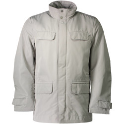 Textiel Heren Wind jackets Geox M6220H T0351 grey F5005
