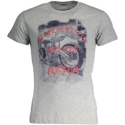 Textiel Heren T-shirts korte mouwen Yes Zee T742/Z302 grey 0845