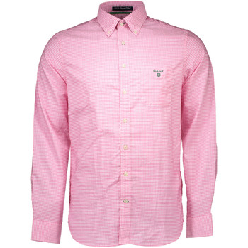 Textiel Dames Overhemden lange mouwen Gant 1501.343222 Shirt Long Sleeves Men pink 647 pink 647