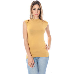 Textiel Dames Tops / Blousjes Nancy N. A28002 Q YELLOW