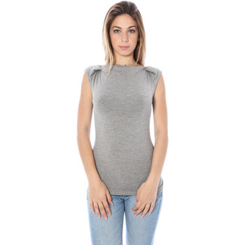 Textiel Dames Mouwloze tops Nancy N. A28002 Q grey