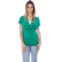 Textiel Dames T-shirts korte mouwen Nancy N. A28017 green