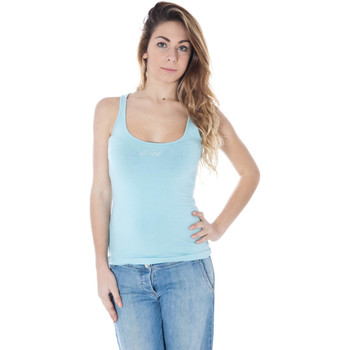 Textiel Dames Mouwloze tops Datch A9K7039 light blue 668