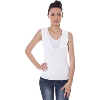 Textiel Dames Tops / Blousjes Datch A9T7389 WHITE 101