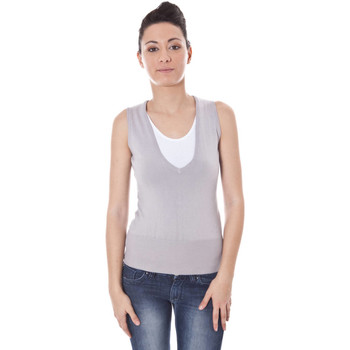 Textiel Dames Tops / Blousjes Datch A9T7389 grey 4A2