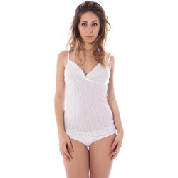 Textiel Dames Tops / Blousjes Datch I9U7926 white 101