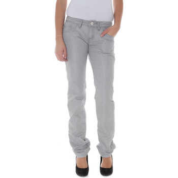 Textiel Dames Chino's Phard P17091605147G7 NEW SEXX STYLE Trousers Women grey 1191 grey 1191