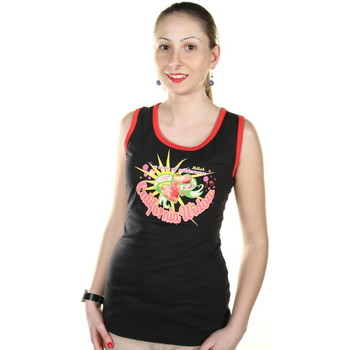 Textiel Dames Mouwloze tops Killah SS23-9972 tank top Women black NER50 black NER50
