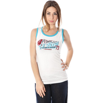 Textiel Dames Mouwloze tops Killah SS23-9973 tank top Women white BIA50 white BIA50
