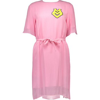 Textiel Dames Korte jurken Love Moschino W V E00 80 S 2655 Short dress Women pink N35 pink N35