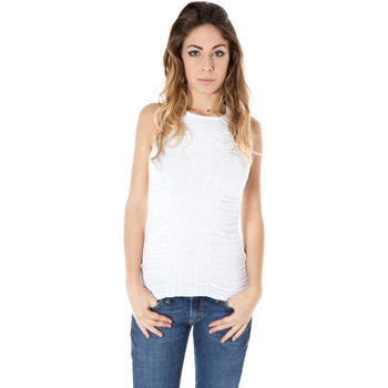 Textiel Heren Mouwloze tops Zuelements Z1102210B04700 SUNSET white 3100