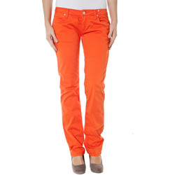 Textiel Dames Chino's Zuelements Z170305057964U BASIC-BURLA orange 3306
