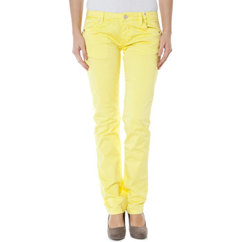 Textiel Dames Chino's Zuelements Z170305057964U BASIC-BURLA yellow 3224