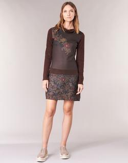 Textiel Dames Korte jurken Smash NANCY Bruin