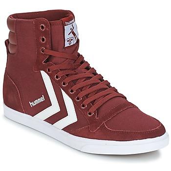Schoenen Hoge sneakers Hummel STADIL CANEVAS HIGH Bordeau