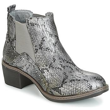 Schoenen Dames Enkellaarzen LPB Shoes CAROLE Grijs
