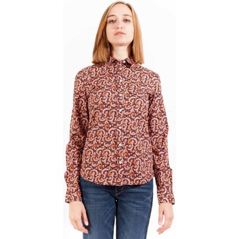 Textiel Dames Overhemden lange mouwen Gant 1403.432080 Shirt Long Sleeves Women multicolor 413 multicolor 413