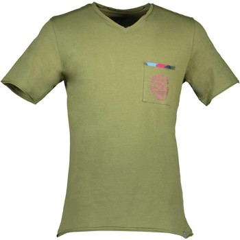 Textiel Heren T-shirts korte mouwen Avx Avirex Dept AVBWTS02TOP T-shirt Short sleeves Men green 9-NOVEMBER green 9-NOVEMBER