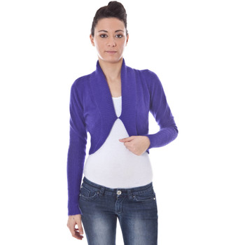 Vest Datch  B9T5334 Shrugs with long sleeves Women violet 6V6