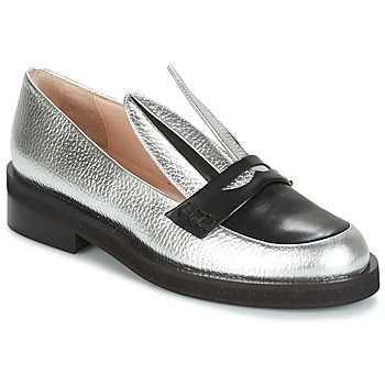 Schoenen Dames Mocassins Minna Parikka LONG EARS Zilver