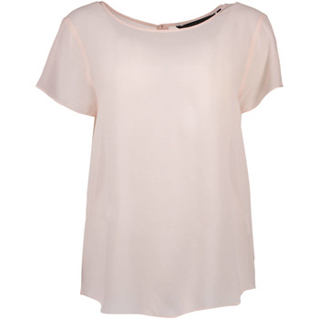 Textiel Dames T-shirts korte mouwen Silvian Heach PGP16464BL HB CAPOMAZZO pink ROSA CIPRIA