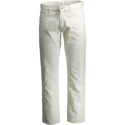 Textiel Dames Straight jeans Gant 1601.138265 Trousers Men white 110 white 110