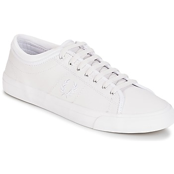 Schoenen Heren Lage sneakers Fred Perry KENDRICK TIPPED CUFF LEATHER Wit