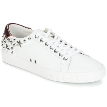 Schoenen Dames Lage sneakers Ash DAZED Wit / Bordeau