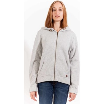 Textiel Dames Sweaters / Sweatshirts Gant 1403.408602 Sweatshirt with zip Women grey 94 grey 94