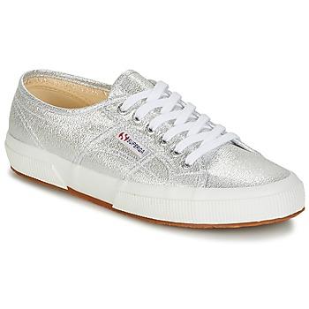 Schoenen Dames Lage sneakers Superga 2750-LAMEW Zilver