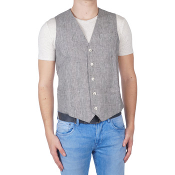Textiel Heren Gilets Pearly King Oswell gilet Zwart