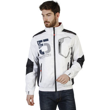 Textiel Heren Wind jackets Geographical Norway Jas wit