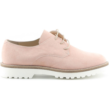 Schoenen Dames Derby Made In Italia Veterschoen roze