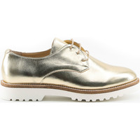 Schoenen Dames Derby Made In Italia Veterschoen geel