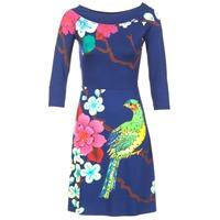Textiel Dames Korte jurken Desigual MARTA Blauw
