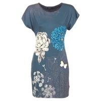 Textiel Dames Korte jurken Desigual MARTI Blauw
