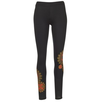 Textiel Dames Leggings Desigual JULEF Zwart