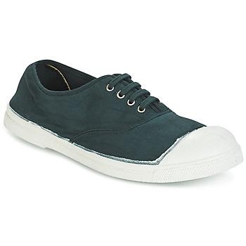 Schoenen Dames Lage sneakers Bensimon TENNIS LACET Groen / Donker