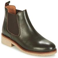 Schoenen Dames Laarzen Bensimon BOOTS CREPE Bruin
