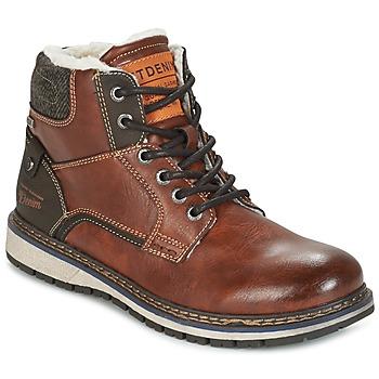 Schoenen Heren Laarzen Tom Tailor LORENZA Bruin
