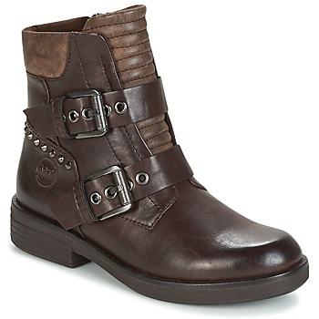 Schoenen Dames Laarzen Marco Tozzi POUDREE Bruin