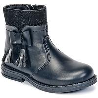 Schoenen Meisjes Laarzen Citrouille et Compagnie HEYLI Zwart