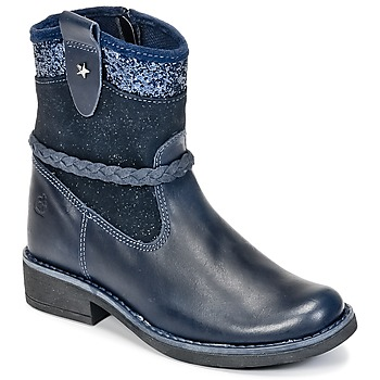 Schoenen Meisjes Laarzen Citrouille et Compagnie HAYO Blauw
