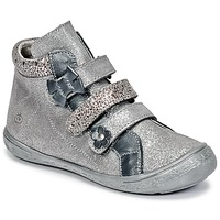 Schoenen Meisjes Hoge sneakers Citrouille et Compagnie FALIE Grijs