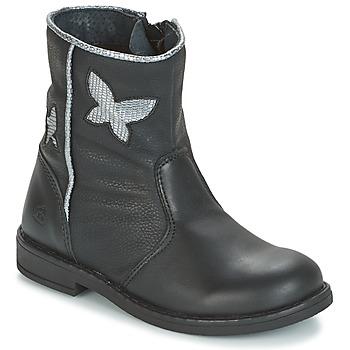 Schoenen Meisjes Laarzen Citrouille et Compagnie HORELI Zwart